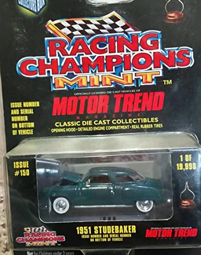 Racing Champions Mint Motor Trend 50th Anniversary Series 1951 Studebaker by Racing Champions