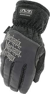 Mechanix Wear Winter Fleece Insulated Gloves (Small, Black/Grey)