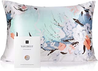 YANIBEST Silk Pillowcase for Hair and Skin – 21 Momme 600 Thread Count 100%..