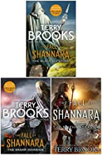 Terry Brooks Fall of Shannara Series 3 Books Collection Set (The Black Elfstone, The Skaar Invasion, The Stiehl Assassin [...