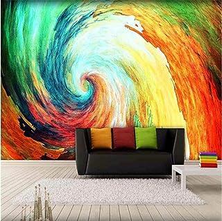 hhlwl 3D Wallpaper Colorful Graffiti Abstract Art Style Oil Painting Murals Restaurant Clubs KTV Bar Modern Fashion 3D Dec...