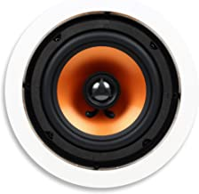 Micca M-6C 6.5 Inch 2-Way in-Ceiling in-Wall Speaker with Pivoting 1
