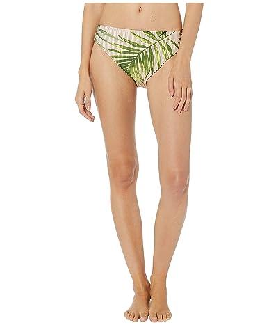 Vince Camuto Tropical Palm Reversible High Leg Bottoms (Fern) Women