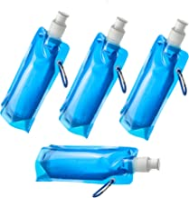 SE Blue Ultralight Water Bottles (4-Pack) - OD-WBF476-BL-4