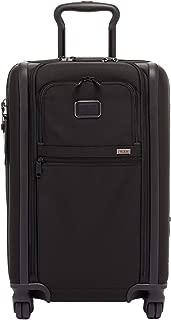 Tumi Unisex Alpha 3 International Expandable 2 Wheeled Carry-On Black 1 One Size