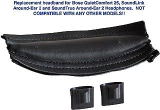 Headband Cushion pad for Bose Quiet Comfort 25 (QC25), SoundLink Around Ear 2 and SoundTrue Around Ear 2 Headphones (Black...