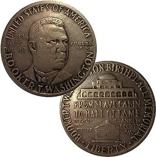 1946-1951 Booker T Washington Half Dollar Very Good