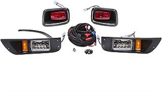10L0L Golf Cart Headlight LED Tail Light Kit Fits EZGO 1996-2013 TXT