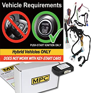 MPC Complete Plug-n-Play Factory Remote Activated Remote Start Kit for 2012-2017 Toyota Camry - Firmware Preloaded