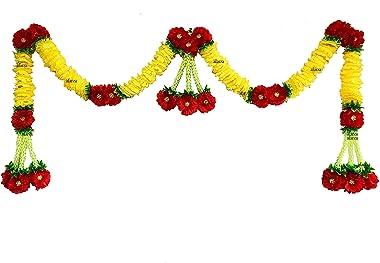 AFARZA; CHOICE GOOD FEEL GOOD Artificial Flower Toran Garland(Multicolour,1 Piece)