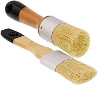 الولايات المتحدة آرت سابلاي 2 قطعة متعددة الاستخدام من الطباشير البيضاوي والدائري والشمع والاستنسل للكراسي والخزائن والأثا...