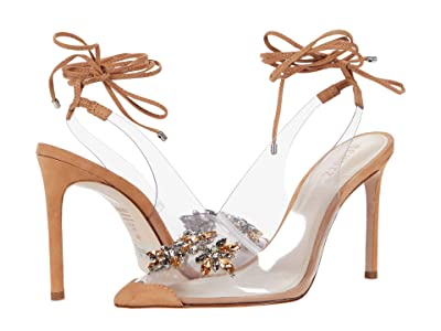 Schutz Tracie (Honey Beige/Transparente) Women