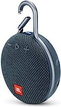 JBL Clip 3 Portable Waterproof Wireless Bluetooth Speaker - Blue (Renewed)