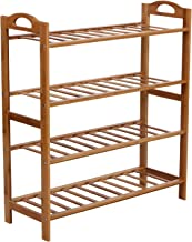 BMS Lifestyle Wooden Shoe Rack, Orange (BMSAMYA10)