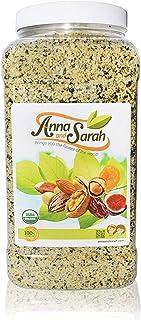 Anna and Sarah Organic Hemp Seeds in Jar, 4 Lbs