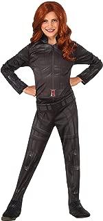 Rubie's Costume Captain America: Civil War Black Widow Child Costume, Large