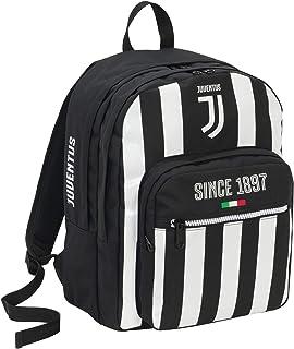 Zaino Doppio Scom Juventus Coaches Mochila tipo casual 41 centimeters 34 Negro (Bianco e Nero)