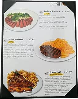10 Pcs of Restaurant Menu Covers Holders 8.5