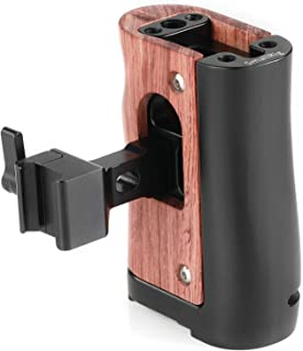 SMALLRIG NATO Handle Wooden Handgrip for BMPCC 4K and Samsung T5 SSD - HSN2270