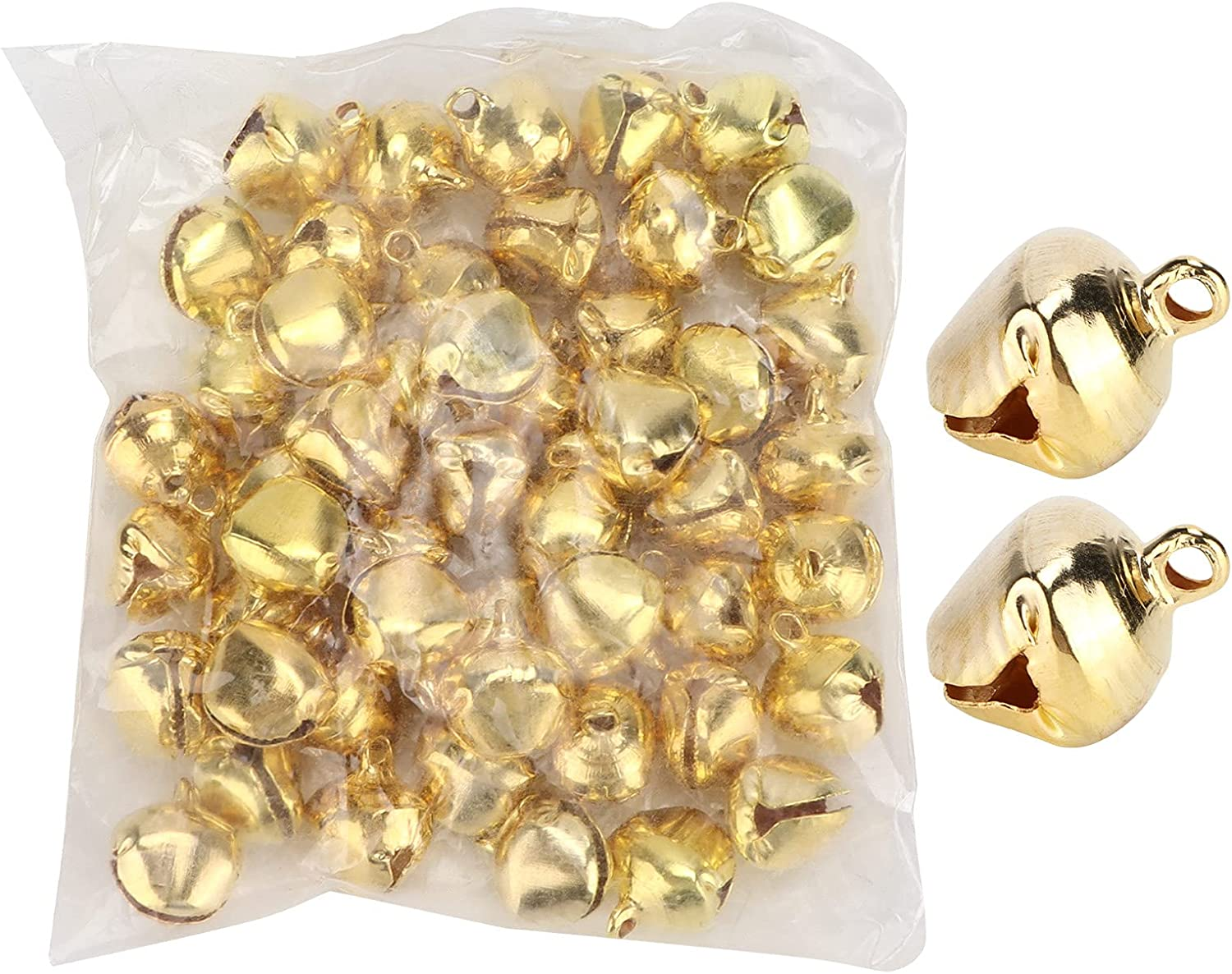 50PCS Jingle Bells Craft Bulk Wedding Super All items in the store Special SALE held Sewing DIY for