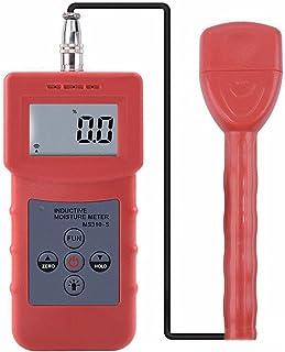 Damp meter اختبار الرطوبة متعددة الوظائف الرطوبة متر موجة الكهرومغناطيسي التعريفي الرطوبة والرطوبة