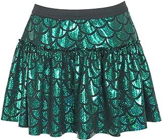 Green Mermaid Sparkle Running Skirt   Running Costume   Glitter Running Skirt