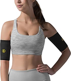 HOT SHAPERS Arm Sleeves – Two Compression Sleeves for a Women's Workout to Lose Fat – Accessories for Weight Loss Gym Exercises – Bicep Trimmers and Slimmers Equipment