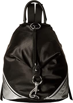 Julian Nylon Side Zip Backpack