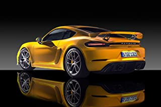 Porsche 718 Cayman GT4 - Fine Art Giclee Canvas Print Wall Art. Professional Gallery wrap Style and Ready to Hang Photo on Canvas Gallery Wrap Wall Display. (011) (16