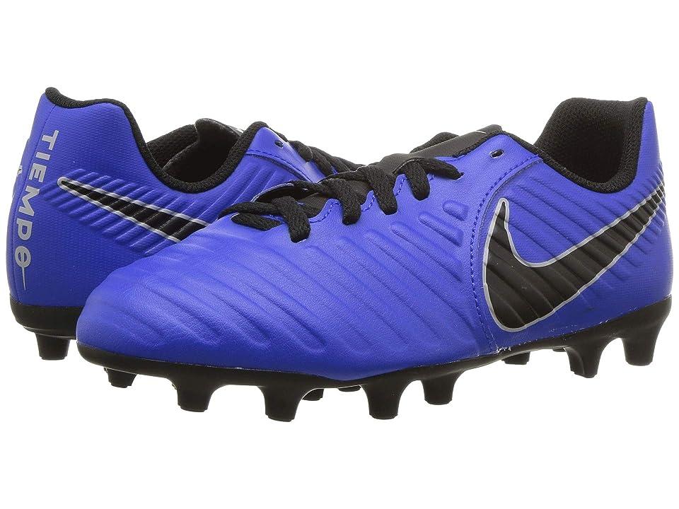 Nike Kids Jr. Legend 7 Club MG Soccer (Toddler/Little Kid/Big Kid) (Racer Blue/Black/Wolf Grey) Kids Shoes