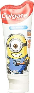 Colgate Gel Dental Smiles Minions para Niños, Sabor Bubble Fruit, 75 ml