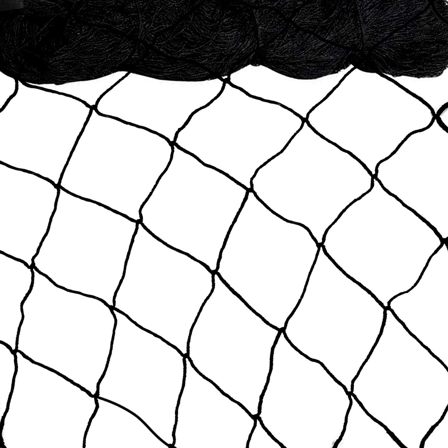 Bird Netting 25'x50' Heavy Duty Nylon Netting for Bird, Poultry,Deer and Other Pests, 2.4'' Square Mesh Garden Netting to Protect Fruit Trees, Plants and Vegetables (25'x50'-2.4'') : Patio, Lawn & Garden