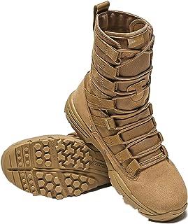 LangfengEU Hommes Bottes de randonnée en Plein air Cool Chaussures de Sport Baskets de Marche Haut Baskets du désert Botte...