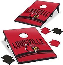 Wild Sports Louisville Cardinals NCAA Cornhole Outdoor Game Set, 2' x 3' Foot - Recreational Series, Tailgate Toss