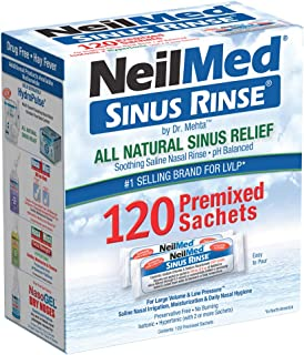 NeilMed's Sinus Rinse Pre-Mixed Packets, 100-Count Boxes by NeilMed