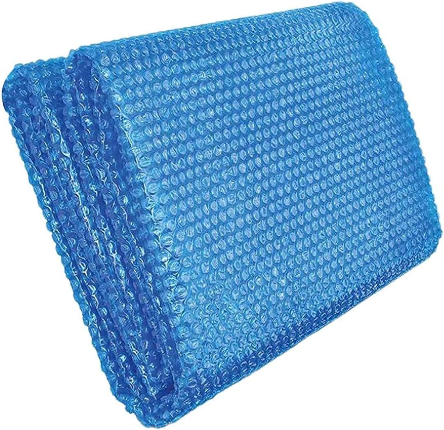 Cubierta Piscina/Cobertor Piscina/ Funda Piscina Cubierta Solar Para Piscinas Exteriores Para Piscinas Elevadas, Azul Manta Térmica Protectora Endotérmica Flotante De Alta Resistencia Resistente Al Ag