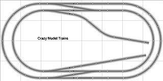Train Layout #001 DCC Bachmann HO EZ Track (NS) Nickel Silver - 4' X 8' NEW - Train Set BAC-HO-GR-L001D