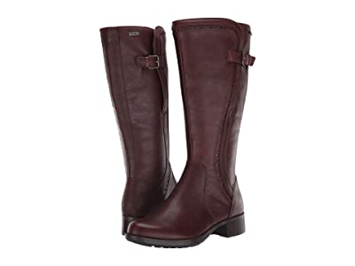 Rockport Copley Tall Waterproof Boot (Brown) Women