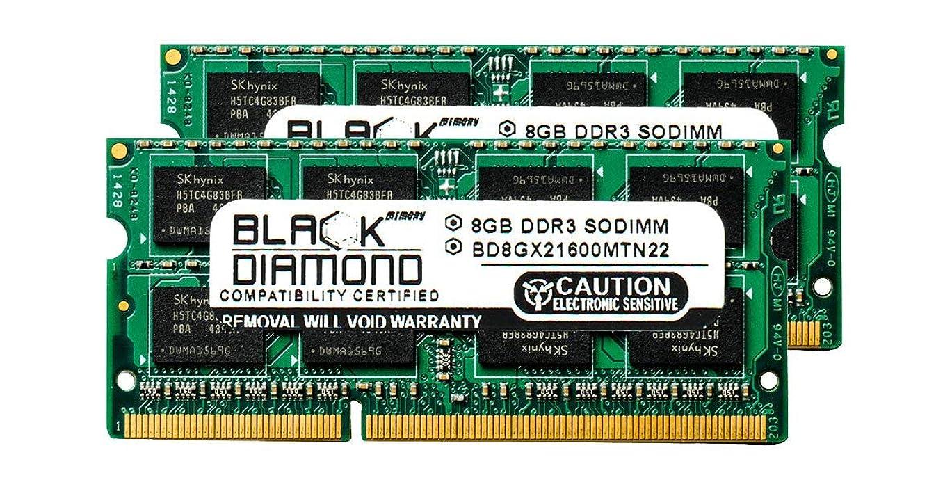 欺センチメンタル大統領16GB 2X8GB RAM Memory for Compaq ENVY Ultrabook 6 ENVY Ultrabook 6-1100sg Black Diamond Memory Module DDR3 SO-DIMM 204pin PC3-12800 1600MHz Upgrade