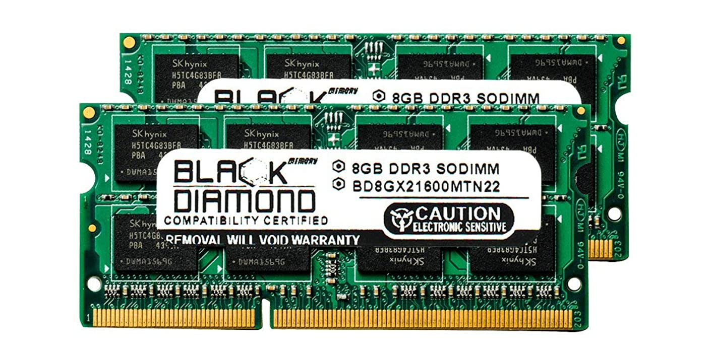 たるみバンドルそのような16GB 2X8GB RAM Memory for Compaq HP Omni 27-1200eu Black Diamond Memory Module DDR3 SO-DIMM 204pin PC3-12800 1600MHz Upgrade