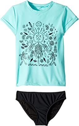 Summer Essentials Short Sleeve Surf Set (Little Kids/Big Kids)