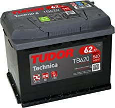 Batería para coche Tudor Exide Technica 62Ah, 12V.
