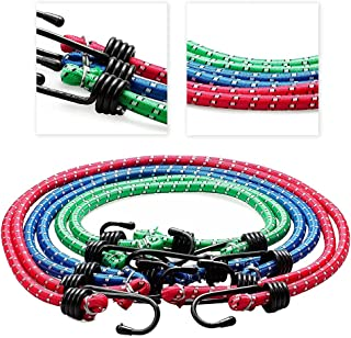Smart-Planet® Dunne expander set flexibel 6-delig - spanrubber stabiel - 6mm diameter spanbanden 2x 60cm 2x 80cm 2x 100cm ...