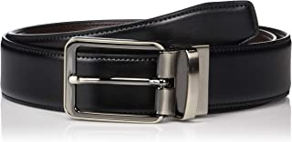 Men's Portfolio Gunmetal Buckle Reversible Belt