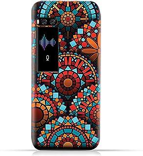 AMC Design Meizu pro 7 TPU Silicone Case with Geometrical Mandalas Pattern