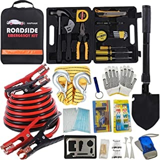 HAIPHAIK Emergency Roadside Toolkit - Multipurpose Emergency