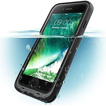 i-Blason Carcasa para iPhone 8 Plus, [Aegis] Carcasa Resistente al Agua con Protector de Pantalla Incorporado para Apple iPhone 8 Plus 2017 Lanzamiento