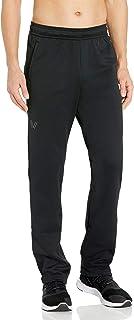 Peak Velocity Amazon Brand Men's Quantum Fleece 'Build Your Own' Sweatpant, Jogger (Loose, Athletic, Inseams), Black, Large