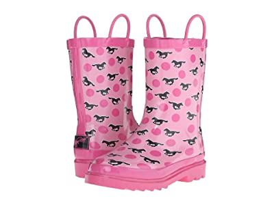 M&F Western Kids Jaylee (Toddler/Little Kid/Big Kid) (Pink) Cowboy Boots