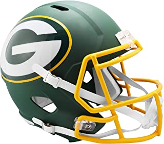 Riddell Green Bay Packers AMP Alternate Revolution Speed Replica Football Helmet - NFL Replica Helmets